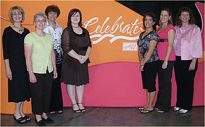Group at celebrate sign awards night edit