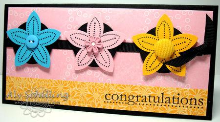 Polka Dot Congrats